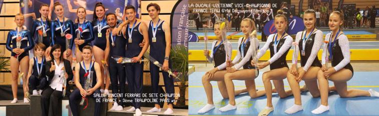Championnats de France Team Gym & Trophée Fédéral TR TU 2018