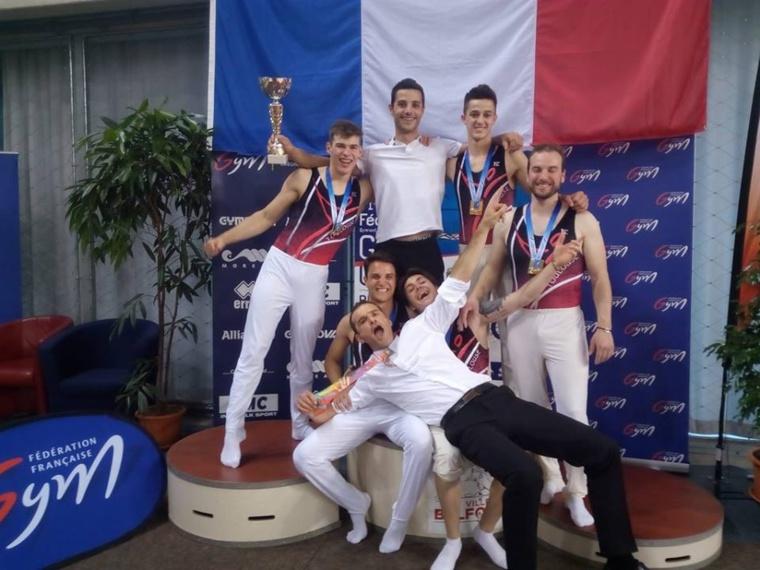 GAM - Le Coquelicot Toulouse Gym remporte le titre national en Trophée Fédéral