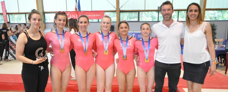 GAM GAF - Championnats de France GAM GAF  Villefranche sur Saône et Arnas