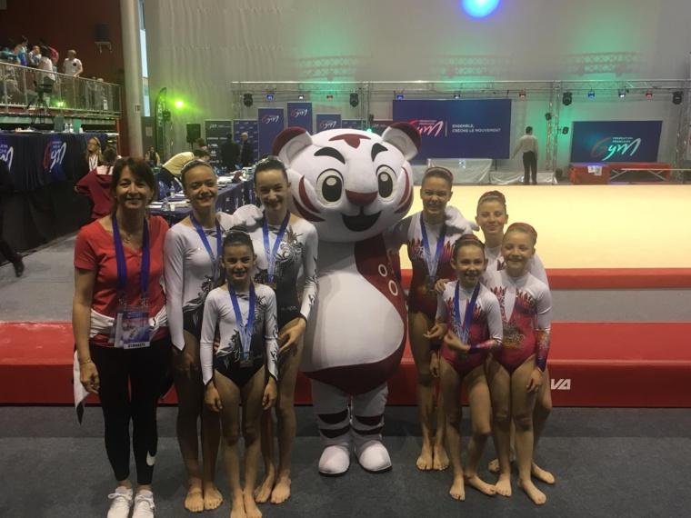 GAC - Toulouse Gym et Tempo Gym médaillés aux Championnats de France