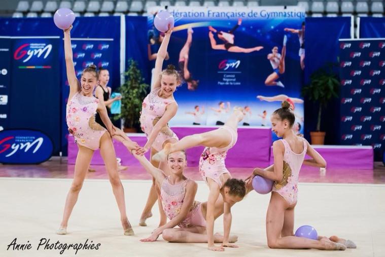 GR- 5 médailles aux Championnats de France GR de Nantes