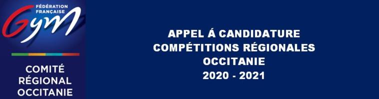 Appel à candidature - Compétitions 2020-2021