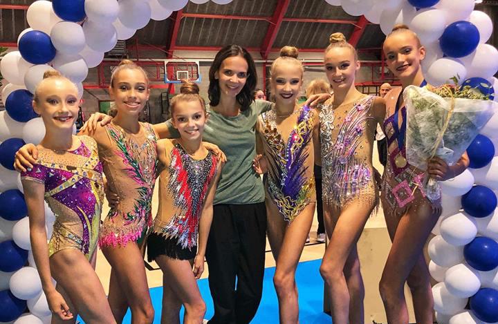 GR- Les gymnastes du Pôle Espoir de Montpellier à la Happy Cup