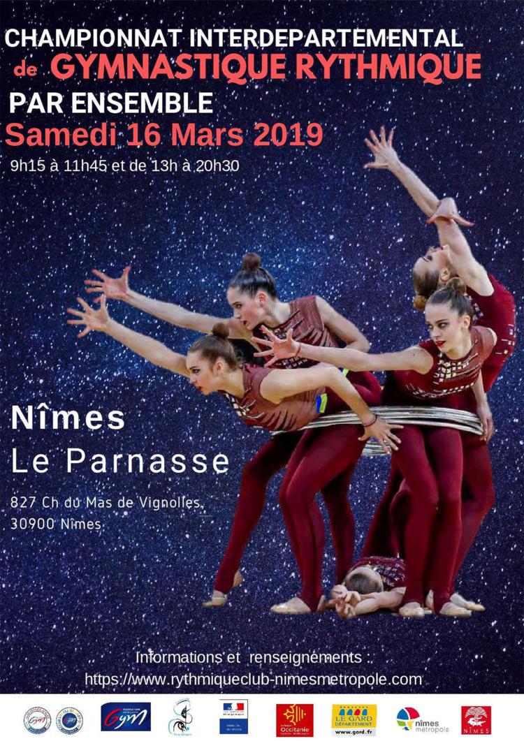 GR - Ensembles Nationaux et Fédéraux Est les 16 et 17 Mars 2019 à NÎMES