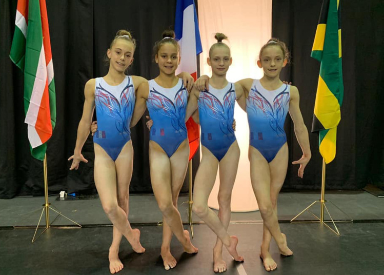 Livane et Lola brillent à l'International Gymnix !