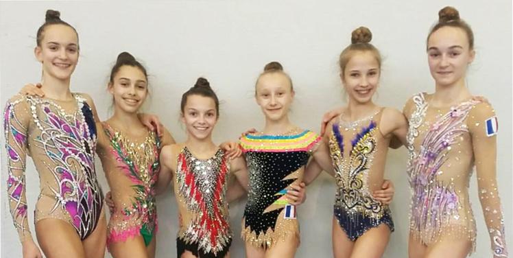 Les gymnastes du Pôle Espoir GR de Montpellier à la Sofia Cup (Bulgarie)
