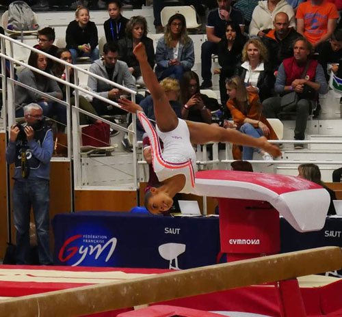 GAM GAF - Jaïlys Shivbaran CEP Montpellier Vice championne de France Avenir 2009