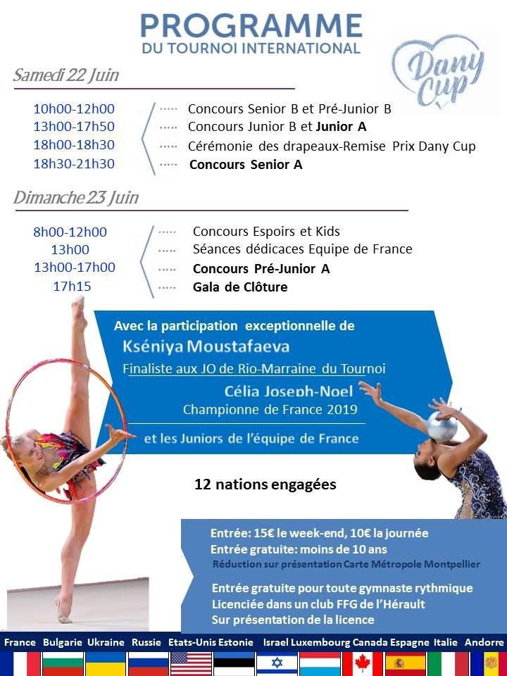 GR - 3ème Edition de la Dany Cup 22.23 juin 2019 Montpellier