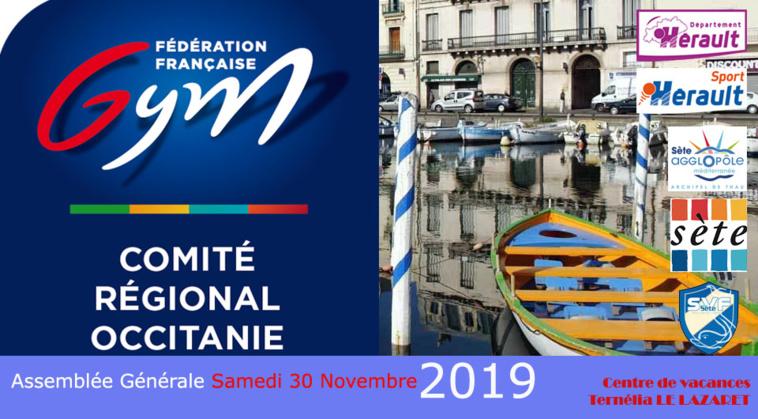 Convocation - Assemblée générale Occitanie -30 nov 2019