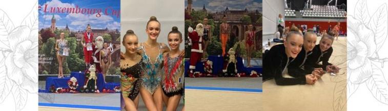 GR- Luxembourg Cup - Maëlle et Lily médaillées