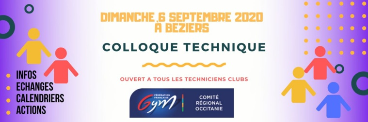 COLLOQUE TECHNIQUE OCCITANIE - 6 Septembre 2020 à BÉZIERS