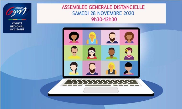 Convocation - Assemblée Générale Elective Occitanie - Samedi 28 novembre 2020