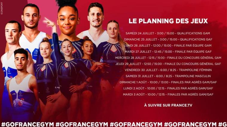 suivez les Jeux Olympiques et l'équipe de France !