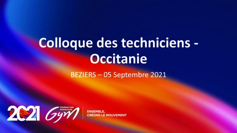 DOCUMENTS COLLOQUE DES TECHNICIENS RENTREE 2021