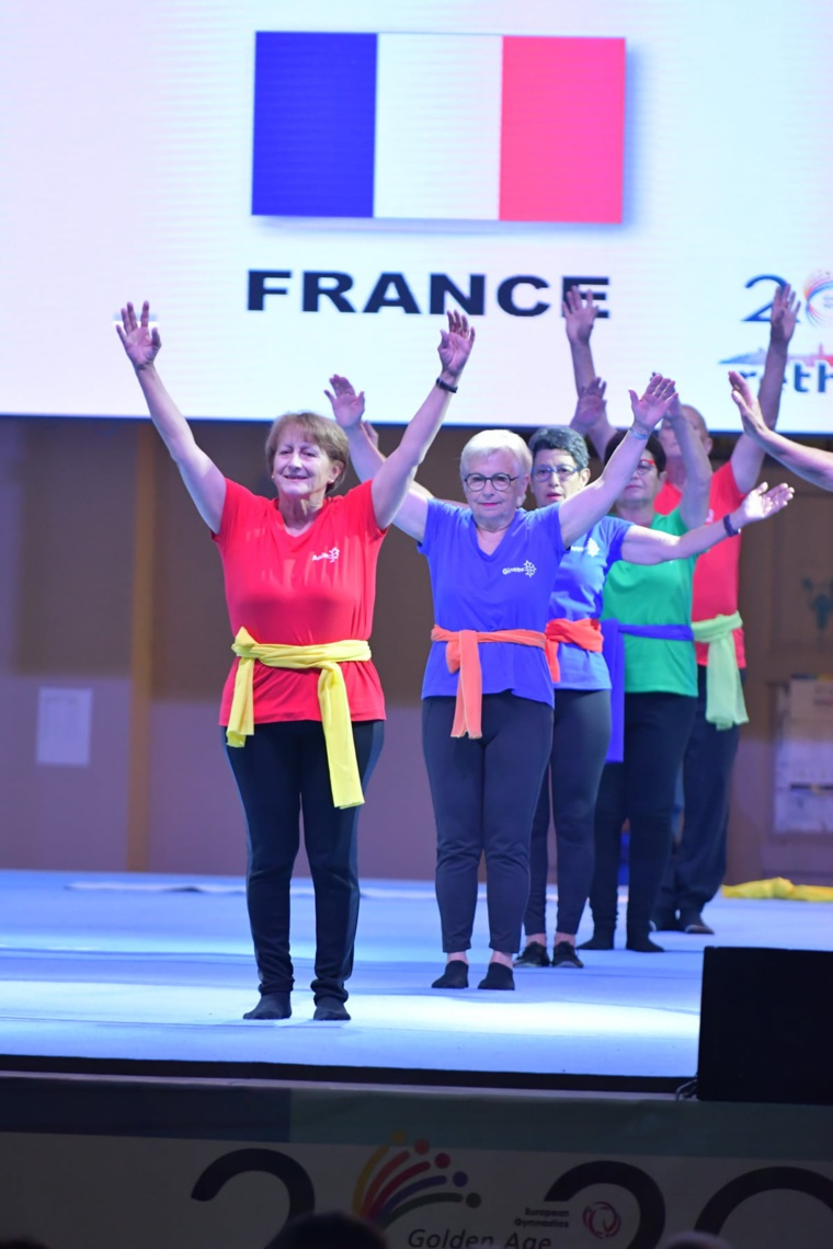 GOLDEN AGE NOS SENIORS REPRESENTENT LA FRANCE EN CRETE