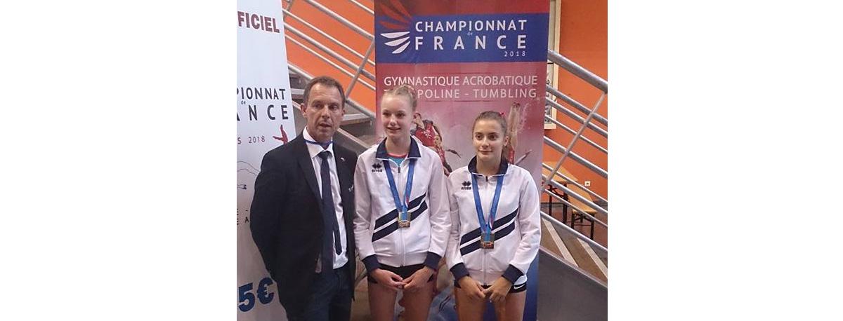 TR- 8 médailles aux championnats de France Trampoline