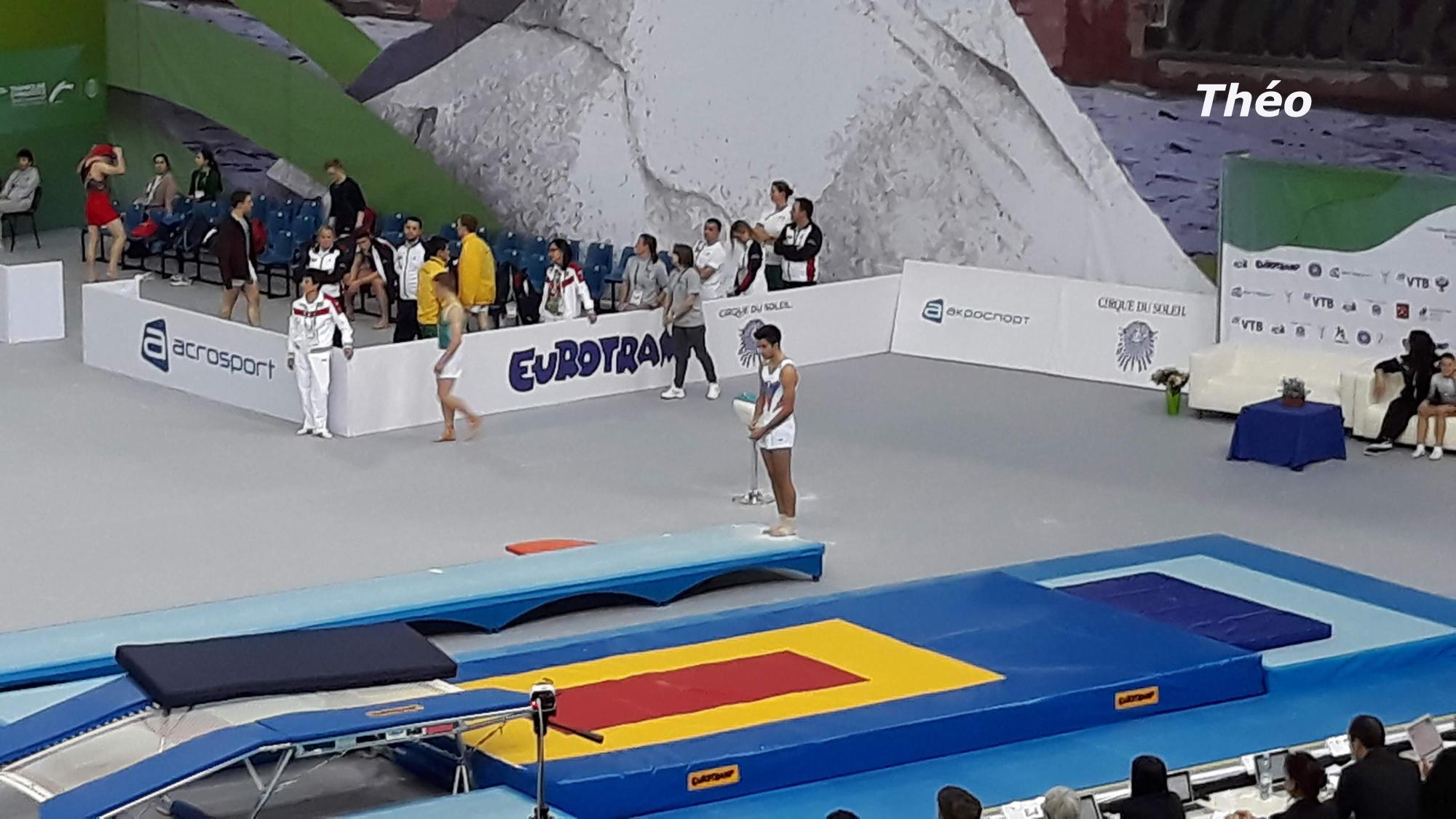 Championnats Mondiaux par Groupe d'Age TR TU à St PETERSBOURG