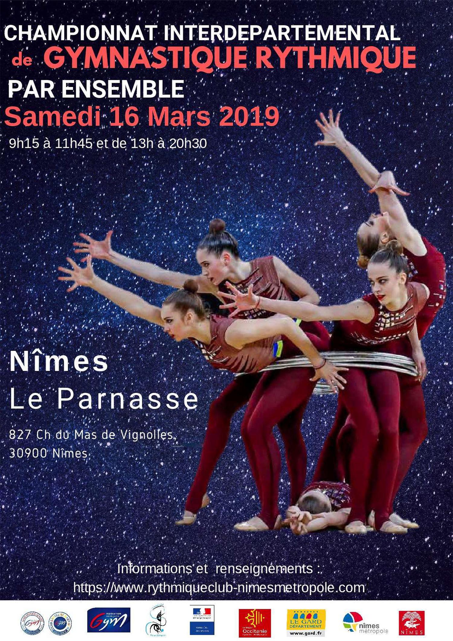 GR - Ensembles Nationaux et Fédéraux Est le 16 Mars 2019 à NÎMES