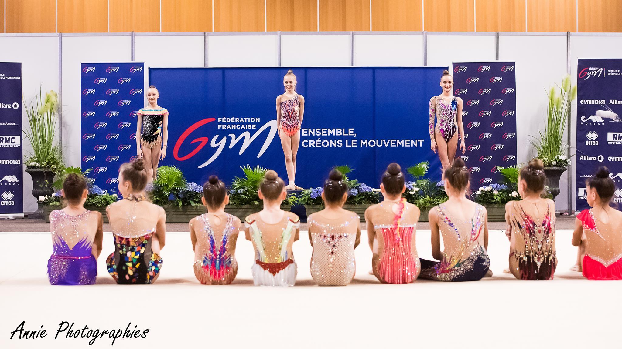 Les occitanes médaillées au championnat de France Elite GR