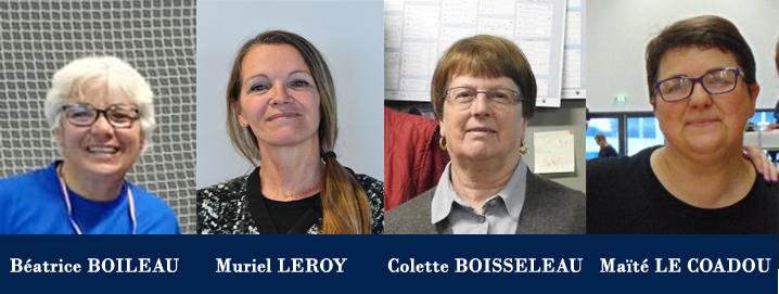 4 occitanes médaillées d'honneur par la Fédération Française de Gymnastique
