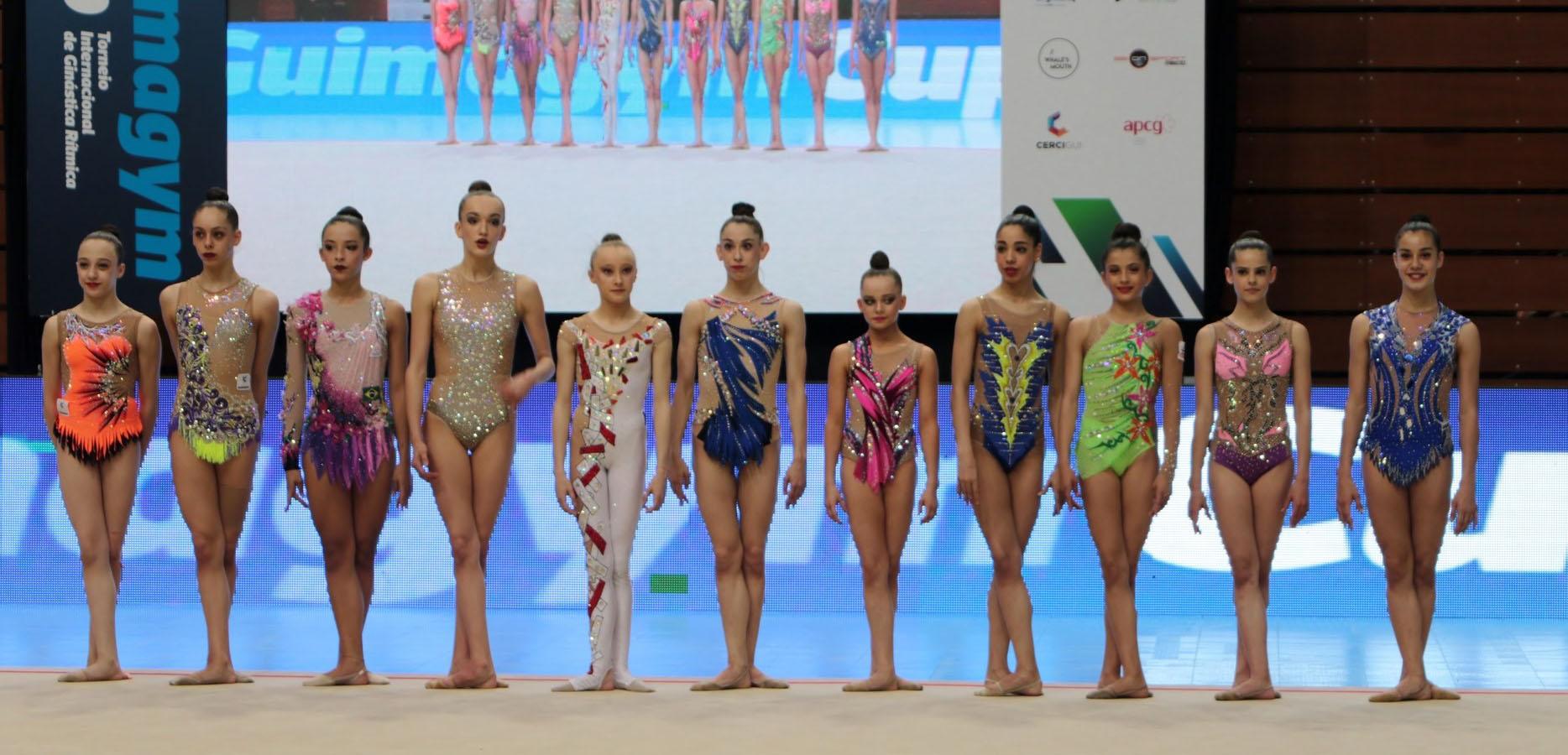 GR- Maelle Millet et Lily Ramonatxo médaillées à la Guimagym Cup