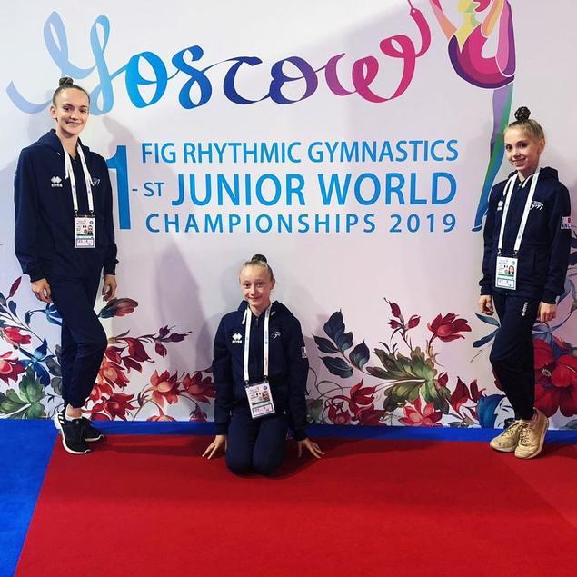 GR – Maëlle et Lily aux Championnats du Monde JUNIORS