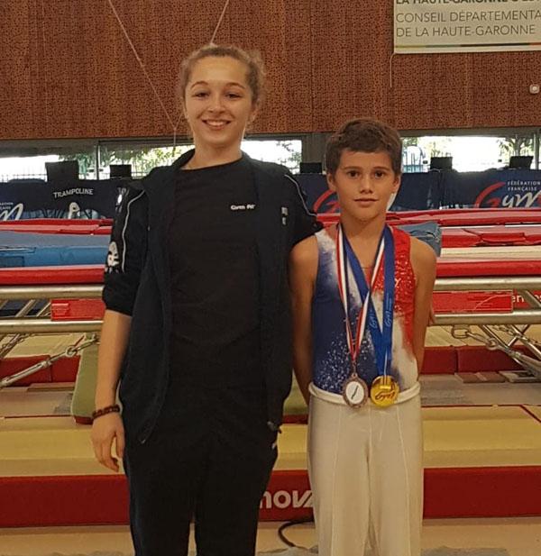 TR- Timéo Teissier (Allobroges de Nîmes) médaillé aux Masters !