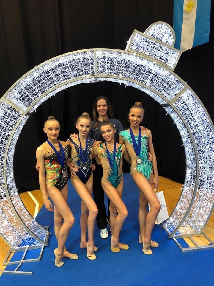 WinterCup - Une pluie de médailles pour le Pôle Espoir GR de Montpellier