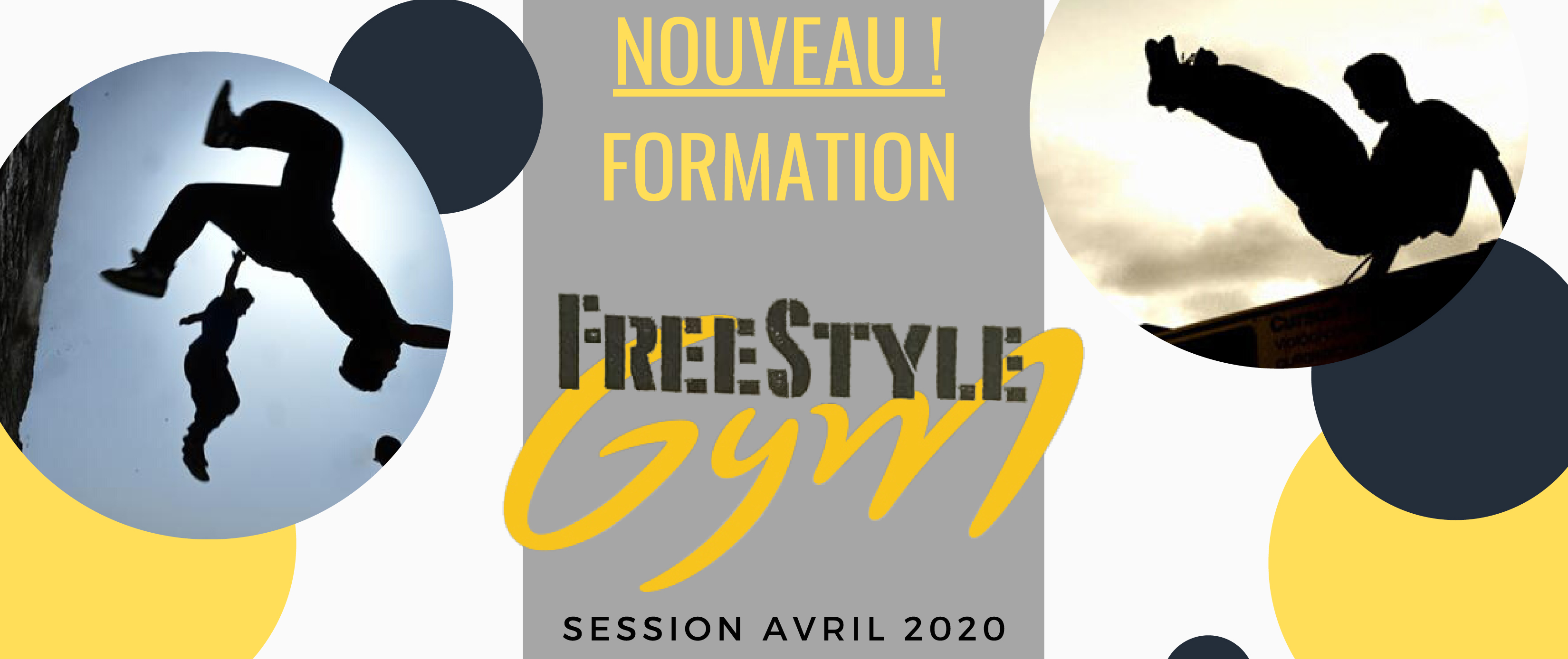 Formation FREESTYLE GYM Occitanie les 11-12 et 18-19 Avril 2020 à Sète