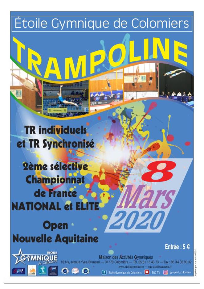 TR - Selective 2 TRI-TRS  National Elite 08 mars 2020 à Colomiers