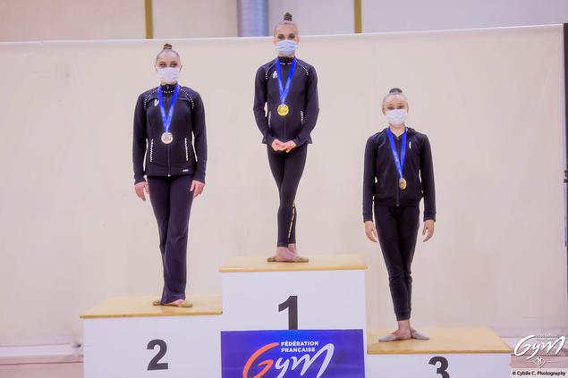 Lily Ramonatxo (Montpellier) 3eme Sénior
