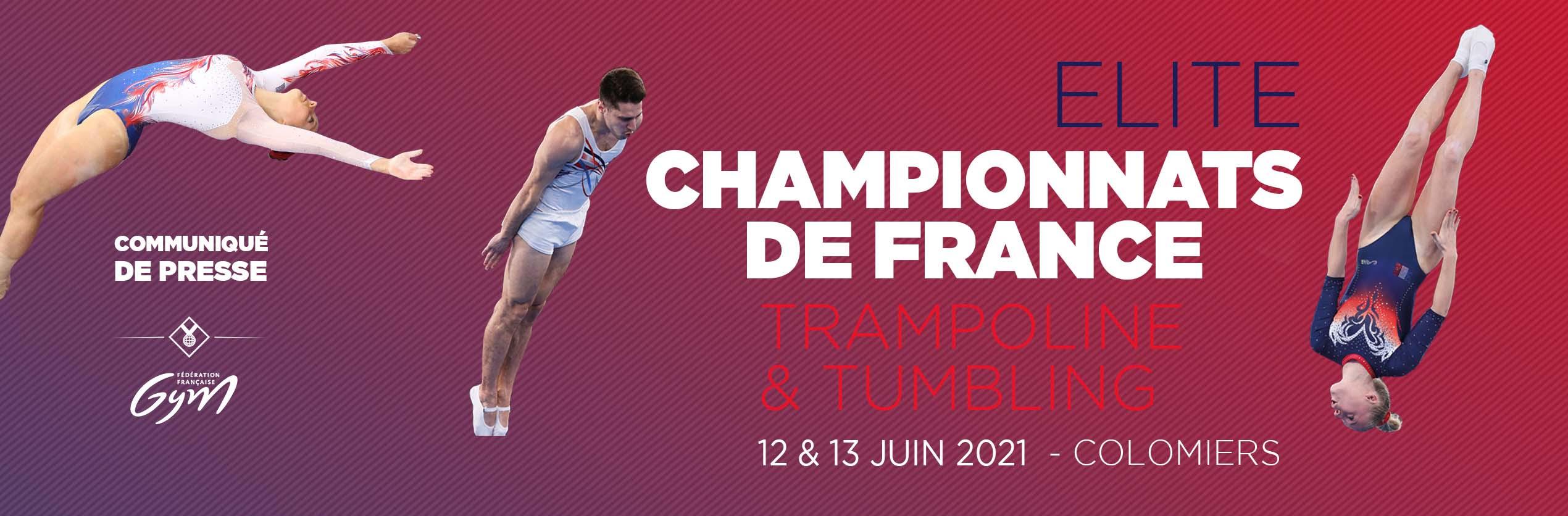 APPEL AUX BENEVOLES - CHAMPIONNATS DE FRANCE ELITE TR TU à COLOMIERS -