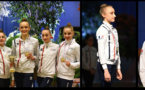 GR- Maelle et Lily médaillées à Corbeil-Essonnes