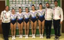 Aérobic - Clara et Lucie Lestruhaut à la Compétition mondiale par groupe d'âge
