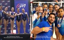 GAF - 3 titres remportés aux championnats de France par Equipes à Poitiers