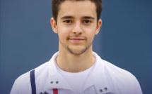 Théo FOURNEX 5ème à l'étape de Coupe du Monde Tumbling à Bakou