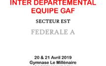 GAF - Équipes Fédérales A EST 20 et 21 Avril 2019 à CASTELNAUDARY