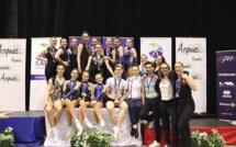 AER- Une pluie de médailles aux Championnats de France Aérobic 2019