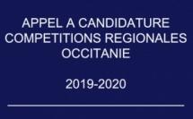 Appel à candidature - Compétitions 2020 - 2021