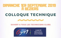 COLLOQUE TECHNIQUE OCCITANIE - 1er Septembre à BEZIERS