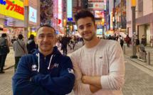 TU- Théo aux championnats du Monde de Tokyo