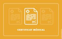 Certificat médical 2021-2022 : Ce qu'il faut retenir