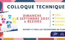 COLLOQUE TECHNIQUE OCCITANIE - 5 Septembre 2021 à BÉZIERS