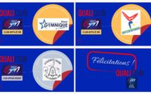 QUALICLUB - LES NOUVEAUX CLUBS RECONNUS & CALENDRIER 2021-22